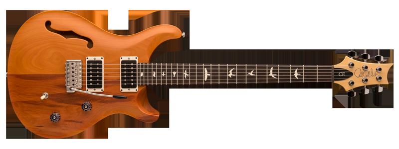 guitare électrique PRS eco responsable, guitare électrique semi hollow, guitare électrique 6 cordes