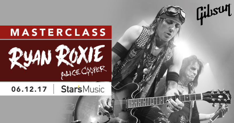 Masterclass Ryan Roxie @ Paris le 06.12