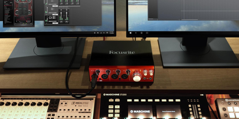 Nouvelle interface Focusrite Clarett USB