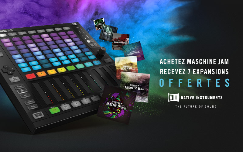 Maschine Jam + Expansions offertes