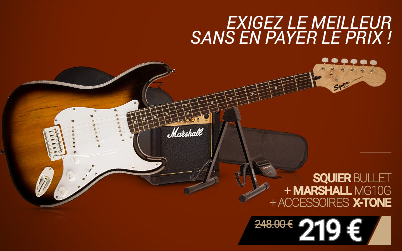 Pack Squier Marshall