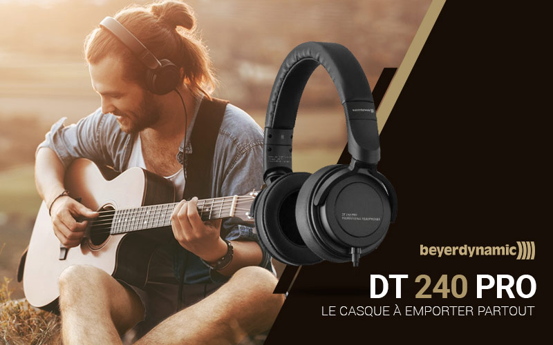 Casque Beyerdynamic  DT 240 Pro - black