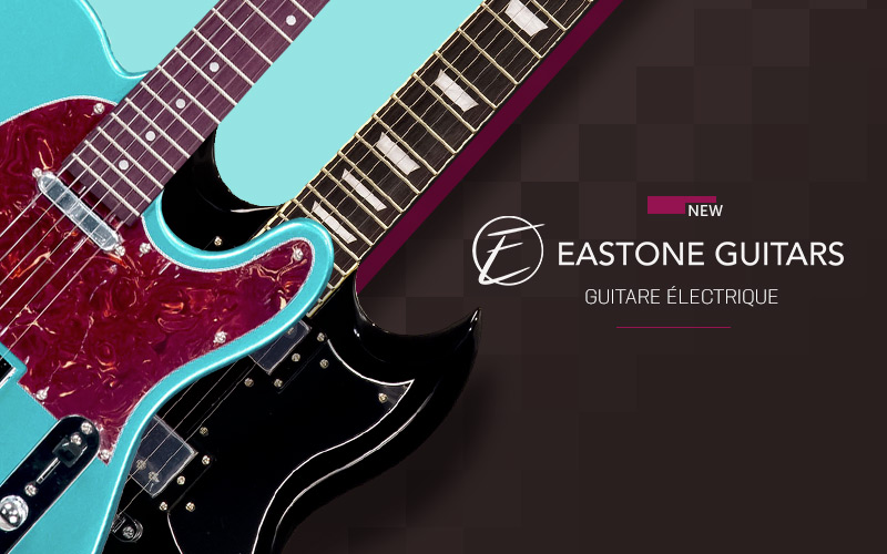 201904 EASTONE guitares