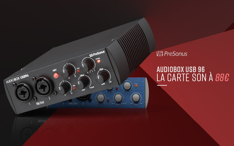VOTRE INTERFACE AUDIO À 88€