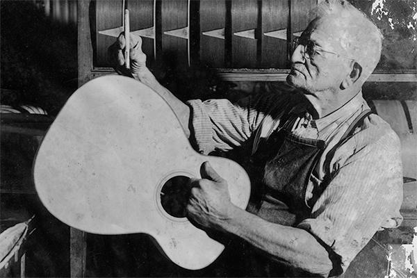 martin guitar luthier nazareth binding