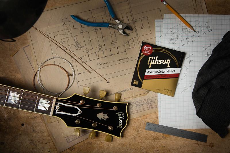 réparation, réglage et entretien de guitares gibson