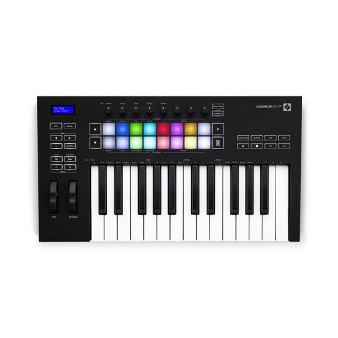 launchkey, novation, clavier electronique, keyboard, launchkey 25 MK3