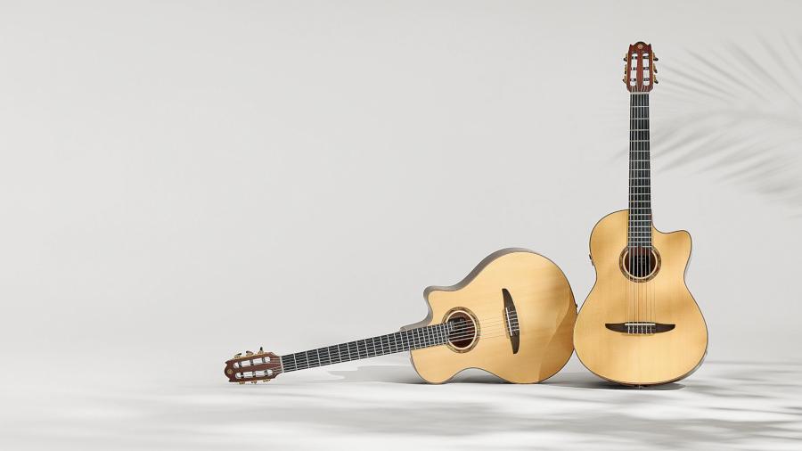 Guitare acoustique Yamaha, Guitare NTX Yamaha, Guitare NCX Yamaha, Guitare folk, Guitare classique