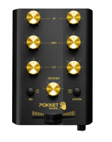 Table de mixage dj Pokketmixer Black/ Gold