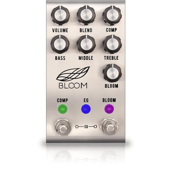 Pédale compression / sustain / noise gate  Jackson audio Bloom V2 Silver Compresseur