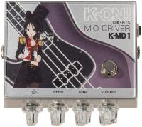 Pédale overdrive / distortion / fuzz 320 design K-ON Mio Driver K-MD1