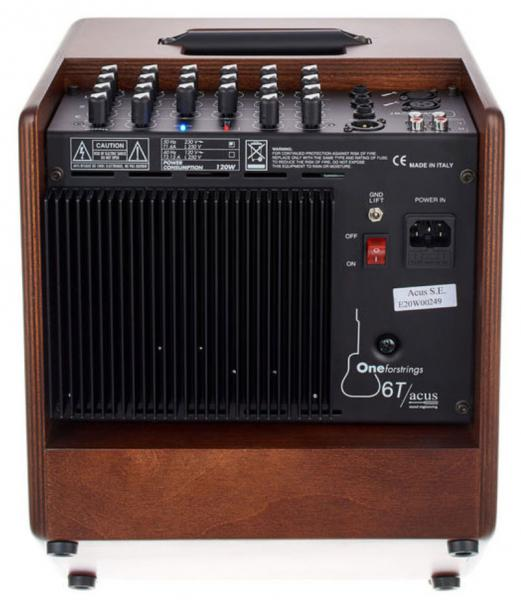 Combo ampli acoustique Acus One Forstrings 6T Simon - Wood