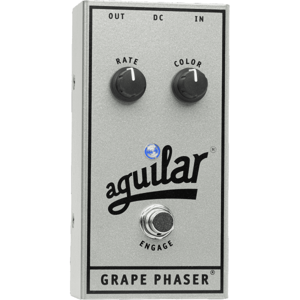 Pedale chorus / flanger / phaser / modul. / trem. Aguilar GRAPE PHASER 25TH ANNIVERSARY LTD