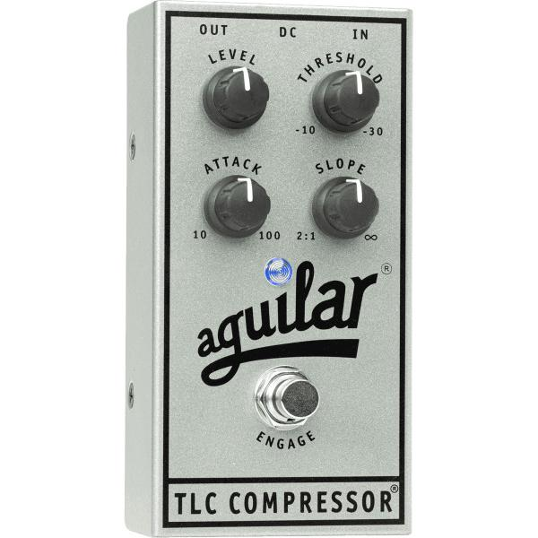 Pédale compression / sustain / noise gate Aguilar TLC COMPRESSOR 25TH ANNIVERSARY LTD