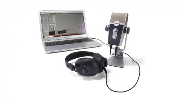 Micro radio, broadcast, camera Akg Podcaster Essentials Bundle