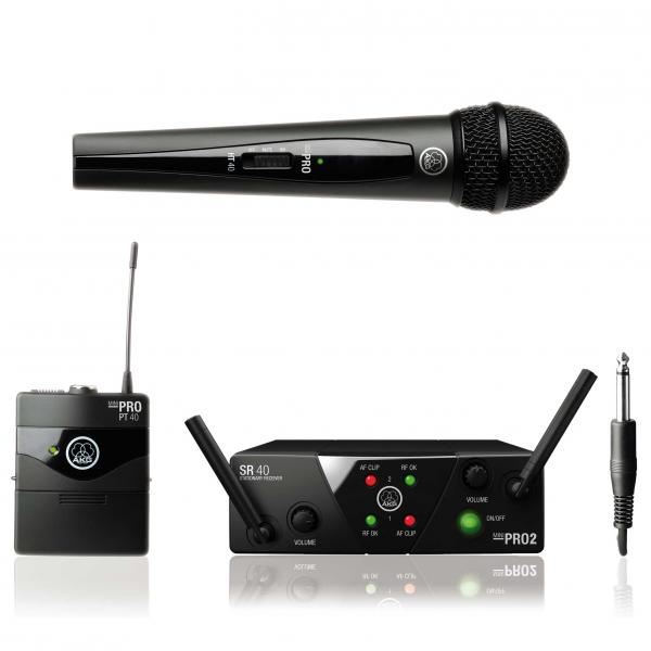 Micro hf main Akg WMS40 Mini2 Dual Vocal / Instrumental Set
