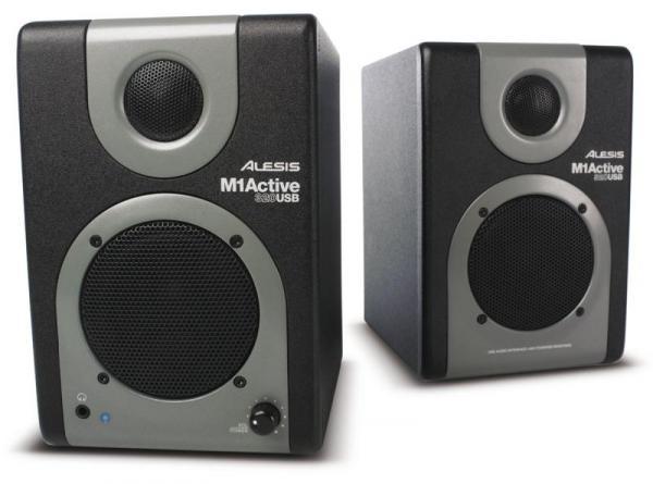 enceinte monitoring active alesis m1 active 320 usb la paire la paire star 39 s music. Black Bedroom Furniture Sets. Home Design Ideas