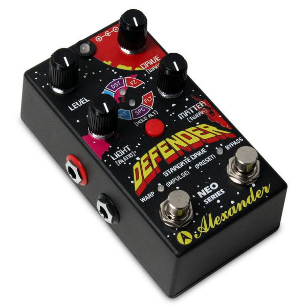 Pédale overdrive / distortion / fuzz Alexander Defender Overdrive Neo