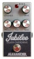 Pédale overdrive / distortion / fuzz Alexander Jubilee Silver Overdrive