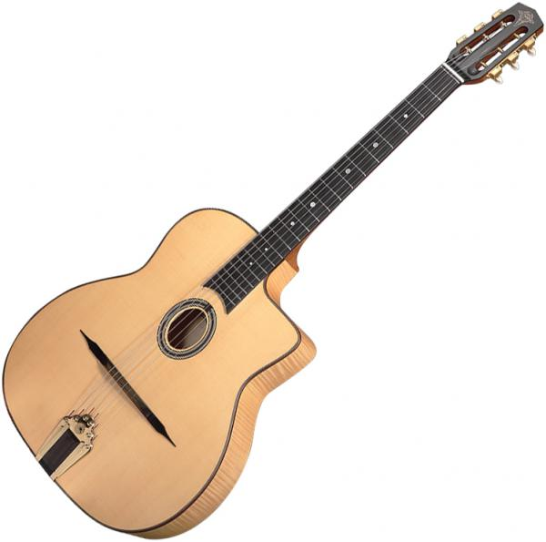 Guitare manouche Altamira Gypsy Jazz M +Case - Natural