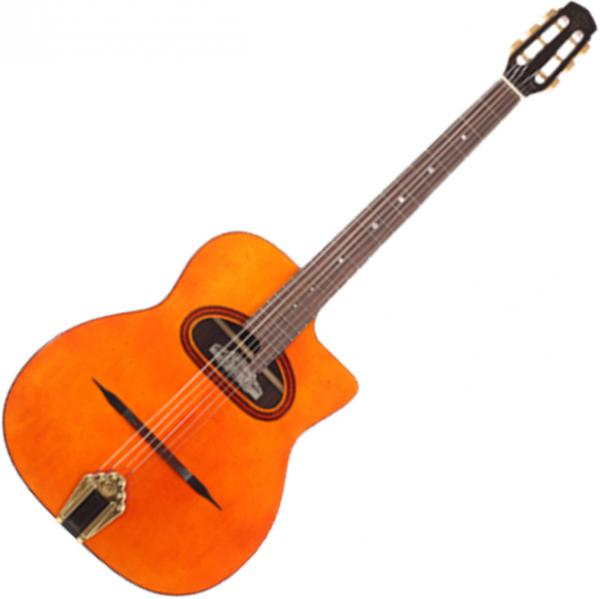 Guitare manouche Altamira Gypsy Jazz M01D +Case - Natural