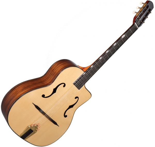 Guitare manouche Altamira Gypsy Jazz M01F +Case - natural