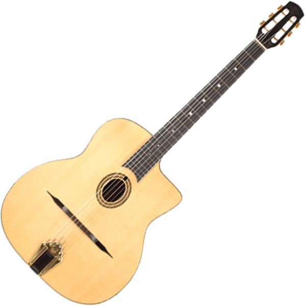 Guitare manouche Altamira Gypsy Jazz M10 +Case - Natural