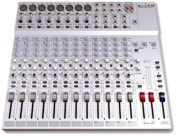 table de mixage alto s-16