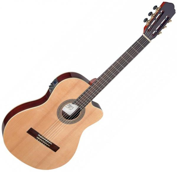 Guitare classique format 4/4 Angel lopez Cereza CER TCE S - natural