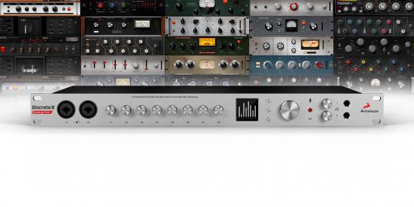 Interface audio Antelope audio Discrete 8 Synergy Core + Micro Edge + Auto-Tune + Vocal FX OFFERTS