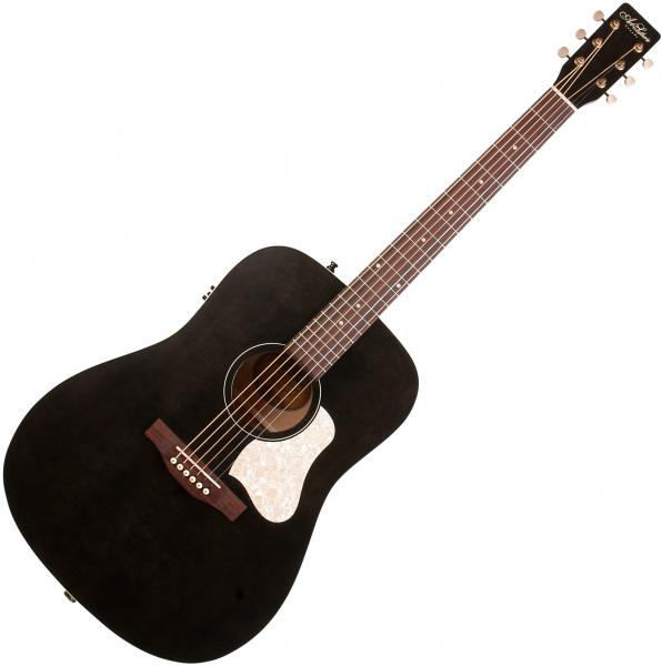 Guitare folk & electro Art et lutherie Americana Dreadnought QIT - Faded black