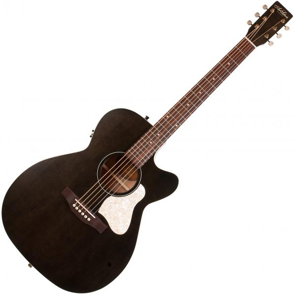 Guitare folk & electro Art et lutherie Legacy Concert Hall CW QIT - Faded black