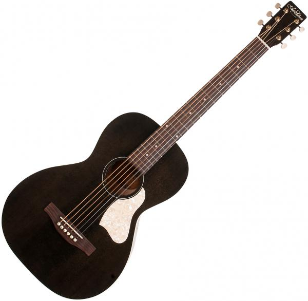 Guitare folk & electro Art et lutherie Roadhouse Parlor A/E +Bag - Faded black