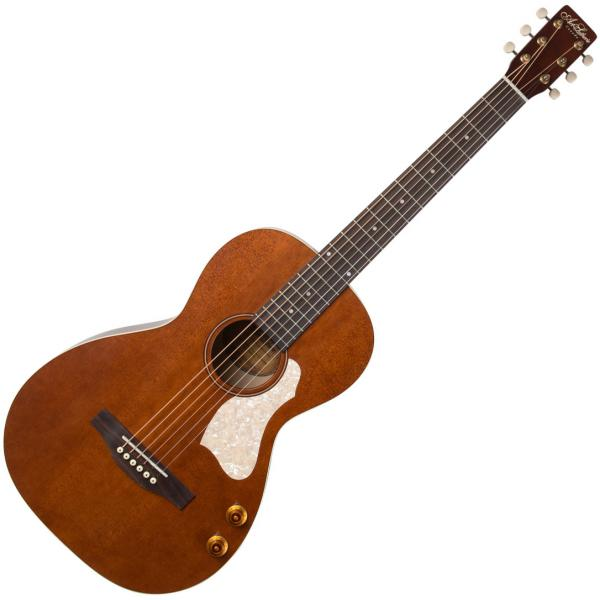 Guitare folk Art et lutherie Roadhouse Parlor Q-Discrete - havana brown