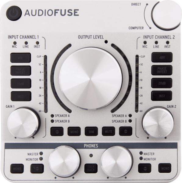 Interface audio usb Arturia AUDIOFUSE Classic Silver