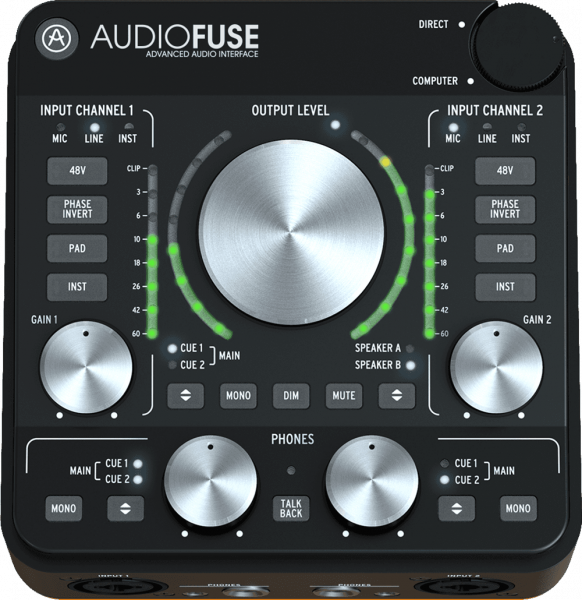 Interface audio usb Arturia Audiofuse REV2