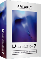 Banque de sons instrument virtuel Arturia V Collection 7