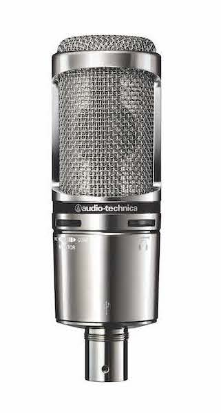 Microphone usb podcast radio Audio technica At 2020 USB+V