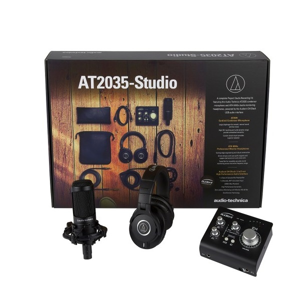 Pack home studio Audio technica AT2035-Studio