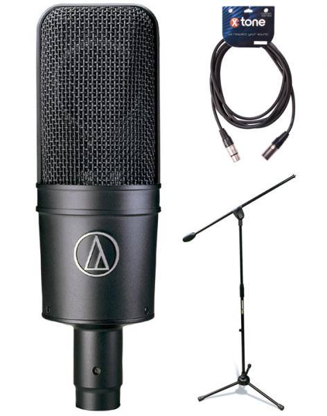 Pack home studio Audio technica AT4033 ASM + pied + câble
