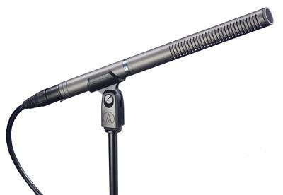 Micro radio, broadcast, camera Audio technica AT897
