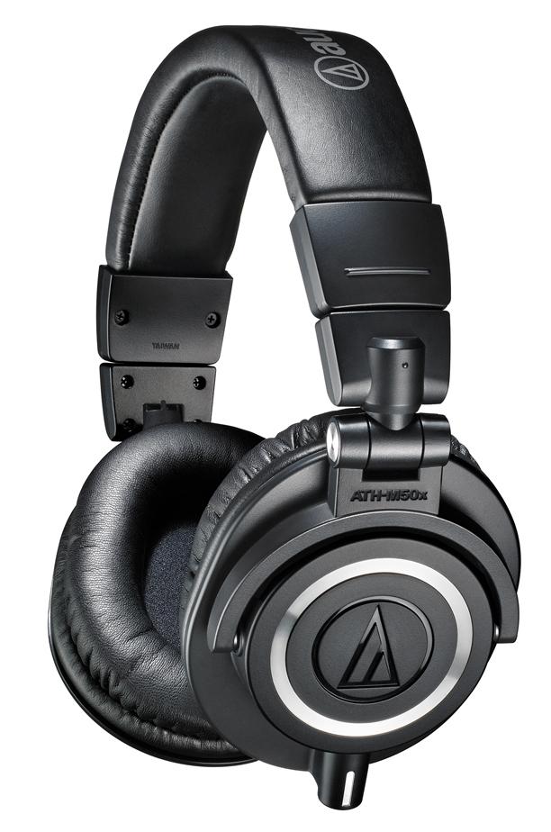 Audio Technica Ath M50x Black Noir Stars Music