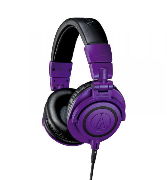 Casque studio & dj Audio technica ATH-M50X PB