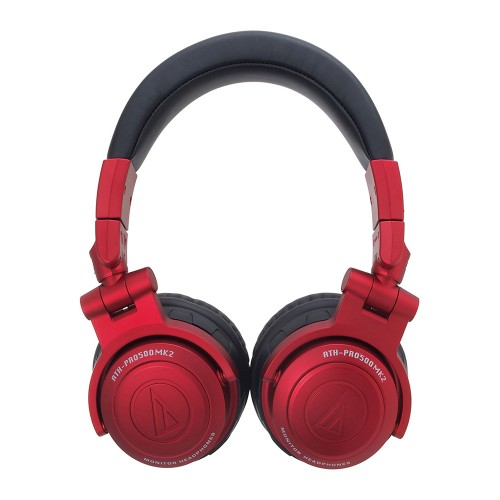 Casque studio & dj Audio technica ATH-PRO500MK2RD - rouge