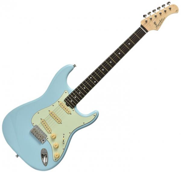 Guitare électrique solid body Bacchus Global BST 650B - Sonic oil blue