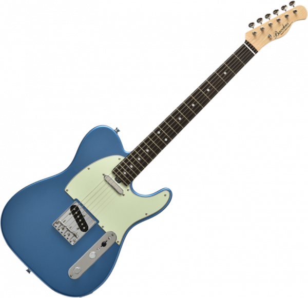 Guitare électrique solid body Bacchus BTL 650 Global - Lake placid blue