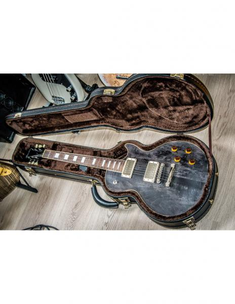 Guitare électrique solid body Bacchus Handcrafted Duke Std Collector Choice (Japan) - black satin