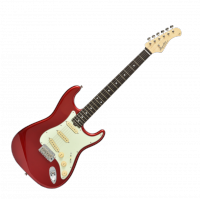 Guitare électrique solid body Bacchus Global BST 650 - Candy apple red