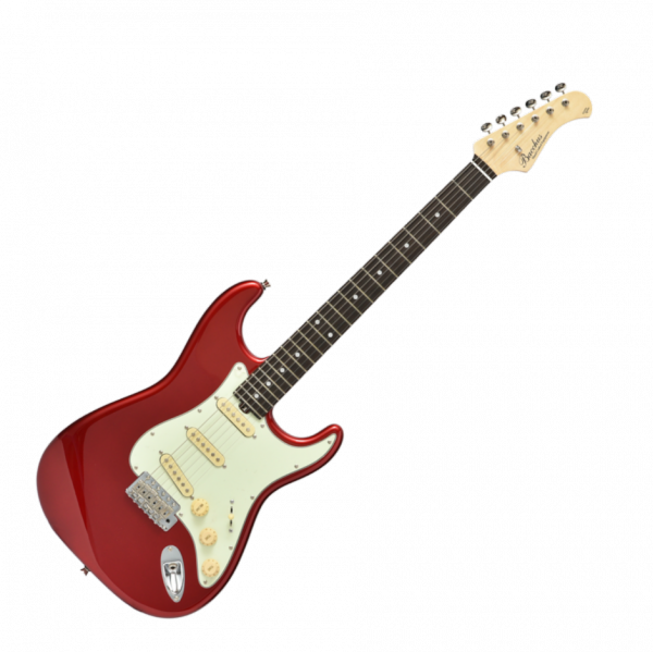 Guitare électrique solid body Bacchus Global BST 650B - Candy apple red
