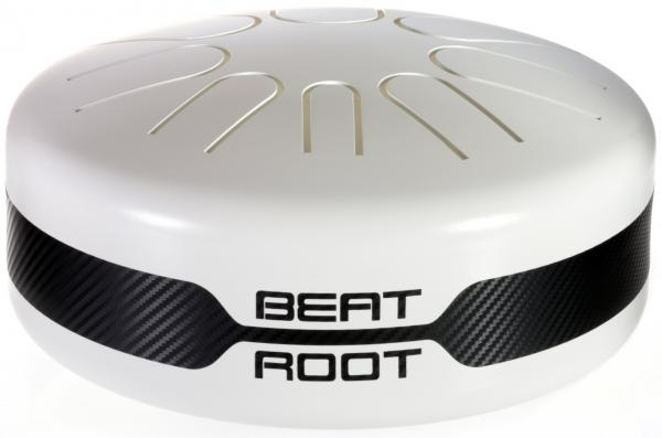 Handpans & steel tongues drums Beat root Electro-acoustique Blanc